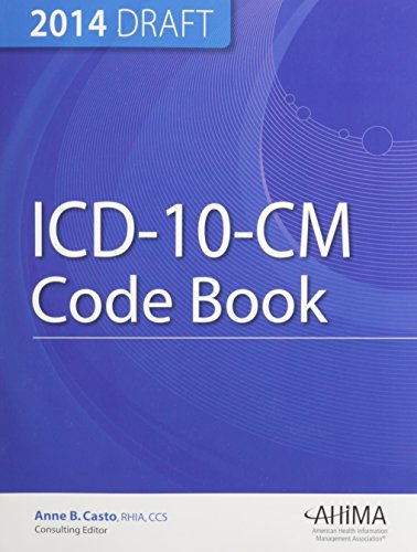 ICD-10-PCS CODE BOOK,2014 DRAFT (BLUE)  N/A edition cover