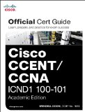 Cisco CCENT/CCNA ICND1 100-101   2013 edition cover