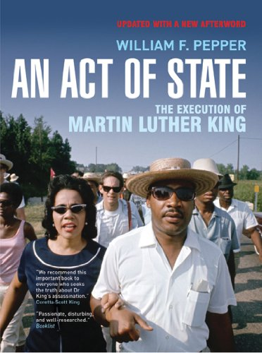 Act of State The Execution of Martin Luther King 2nd 2008 (Revised) edition cover