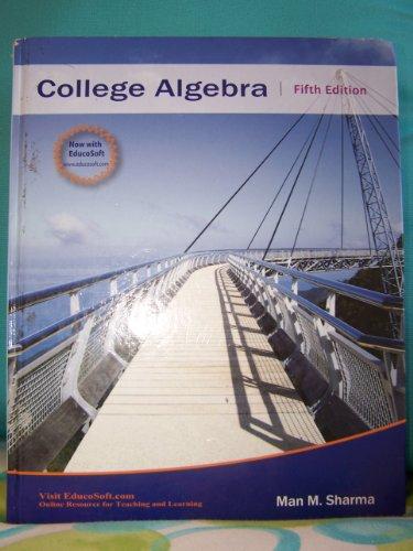 College Algebra (Pre-Calculus 1)  N/A edition cover