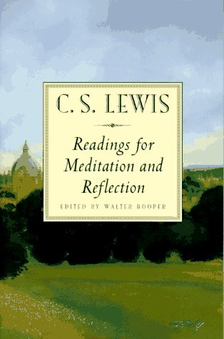 C. S. Lewis Readings for Meditation and Reflection  1996 edition cover