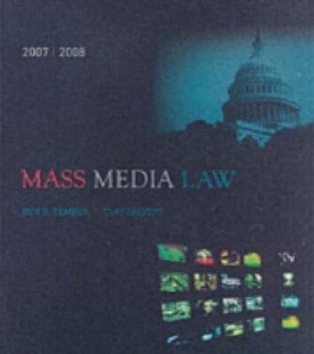 Mass Media Law 5th 2007 edition cover