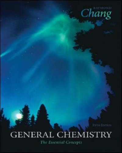 General Chemistry The Essential Concepts 5th 2008 (Revised) 9780073311852 Front Cover