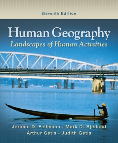 Human Geography  11th 2010 edition cover