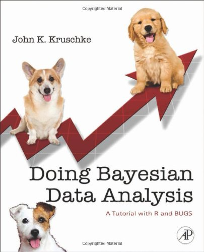 Doing Bayesian Data Analysis A Tutorial with R and Bugs  2011 edition cover