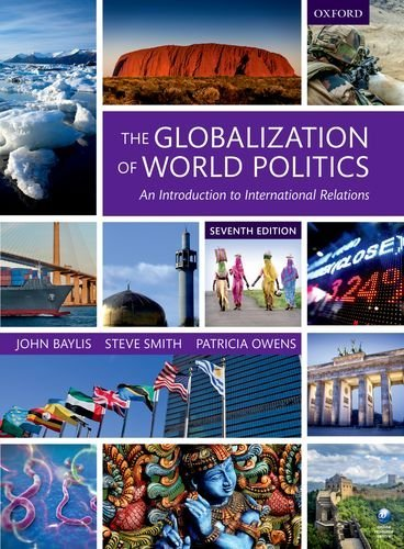 Globalization of World Politics An Introduction to International Relations 7th 2016 9780198739852 Front Cover