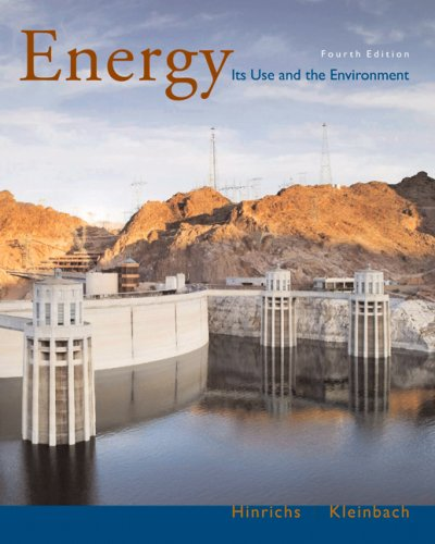 Energy Its Use and the Environment 4th 2006 (Revised) edition cover