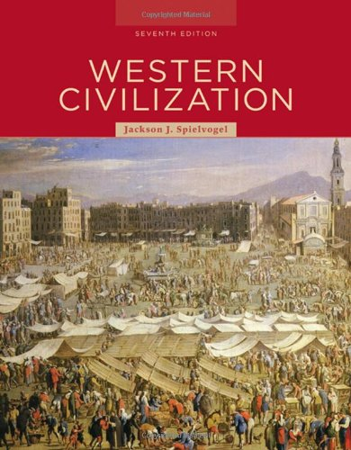 Western Civilization  7th 2009 edition cover