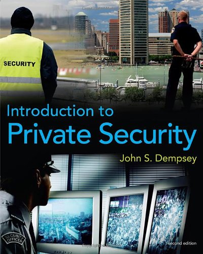 Introduction to Private Security  2nd 2011 edition cover
