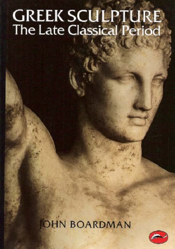 Greek Sculpture The Late Classical Period  1995 edition cover