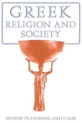 Greek Religion and Society   1985 edition cover
