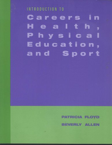 Careers in Health, Physical Education, and Sports   2004 9780534607852 Front Cover