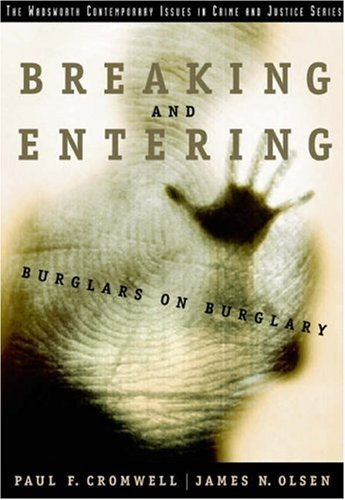 Breaking and Entering Burglars on Burglary  2004 edition cover