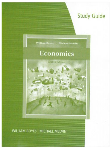 Economics  8th 2011 (Guide (Pupil's)) 9780538753852 Front Cover