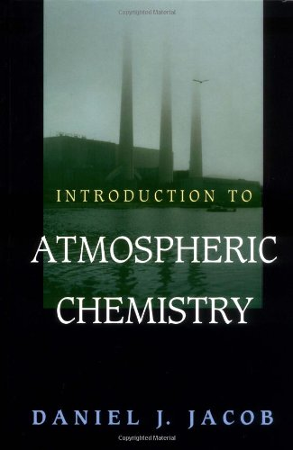 Introduction to Atmospheric Chemistry   2000 edition cover