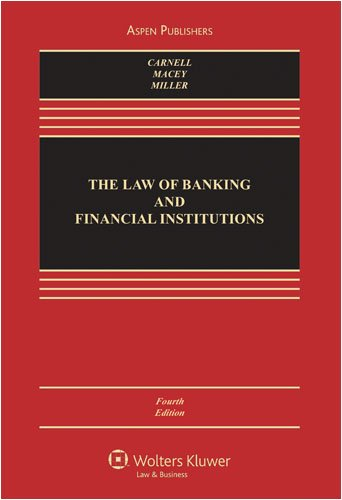 Law of Banking and Financial Institutions  4th 2008 (Revised) edition cover