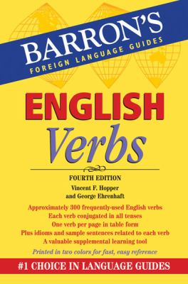 English Verbs And a Review of Standard English Usage 4th 2012 (Revised) edition cover