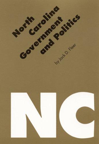 North Carolina Government and Politics   1994 edition cover