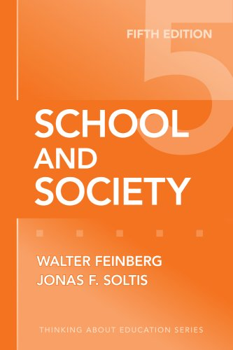 School and Society  5th 2009 edition cover