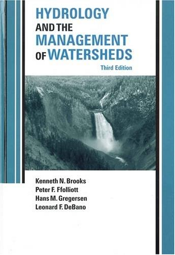 Hydrology and the Management of Watersheds  3rd 2003 edition cover