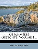 Gesammelte Gedichte, Volume 1...   0 edition cover