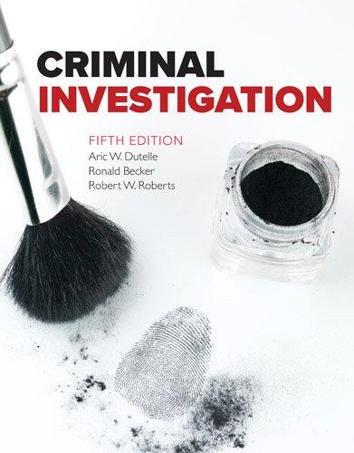 Criminal Investigation:   2016 9781284082852 Front Cover