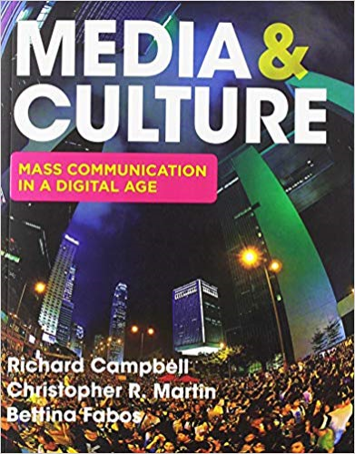 Media & Culture: An Introduction to Mass Communication  2019 9781319102852 Front Cover