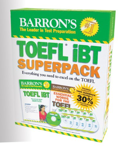 Barron's TOEFL IBT Superpack, 2nd Edition  2nd 2013 (Revised) edition cover
