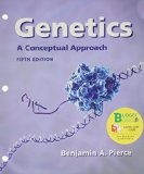 Genetics: A Conceptual Approach  2013 edition cover