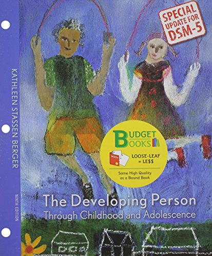 Developing Person Through Childhood and Adolescence  9th 2014 edition cover