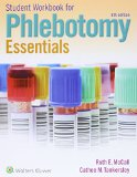 McCall Phlebotomy Essentials 6e Book and Workbook Package  6th 2016 edition cover