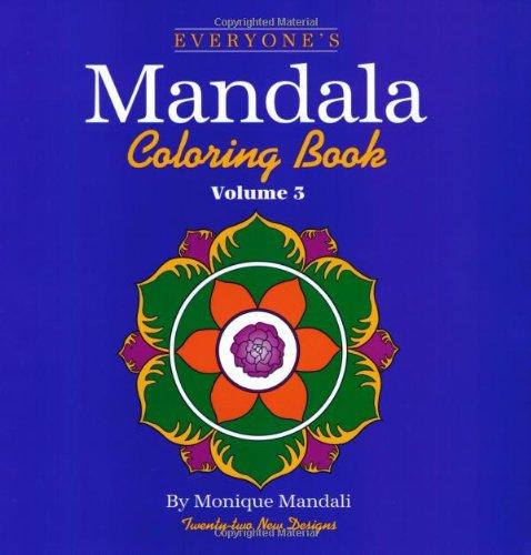 Everyone's Mandala Coloring Book  N/A 9781560445852 Front Cover