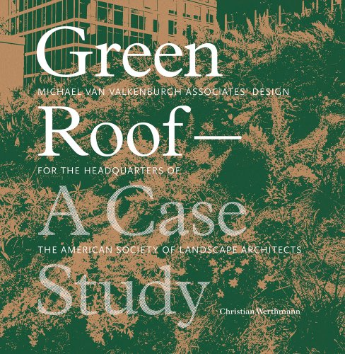 Green Roof Gardens   2007 9781568986852 Front Cover