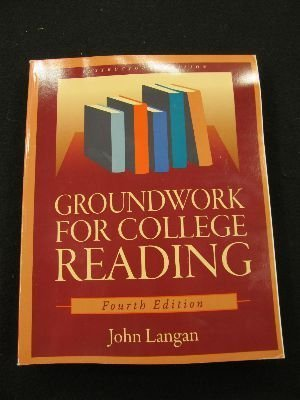 Groundwork for College Reading  4th 2008 edition cover