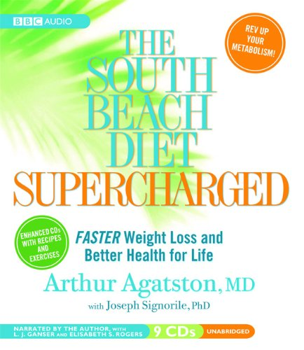 The South Beach Diet Supercharged:  2008 edition cover