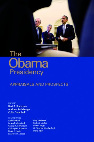 Obama Presidency Appraisals and Prospects  2012 (Revised) edition cover