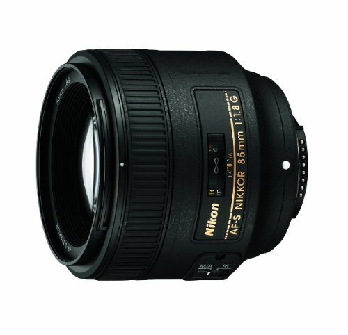 Nikon AF FX NIKKOR 85mm f/1.8G Fixed Lens with Auto Focus for Nikon DSLR Cameras product image