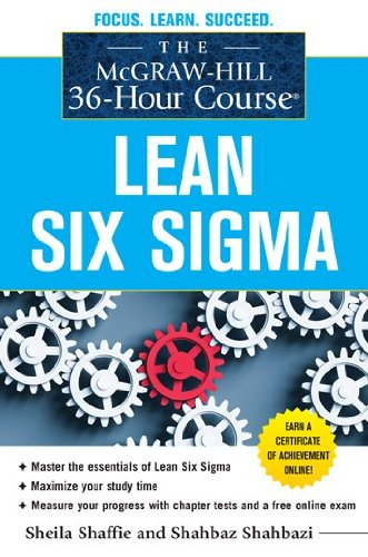 Lean Six Sigma   2012 edition cover