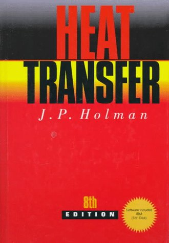 Heat Transfer  8th 1997 9780078447853 Front Cover