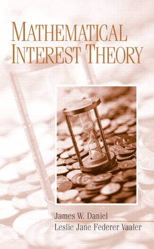 Mathematical Interest Theory   2007 edition cover