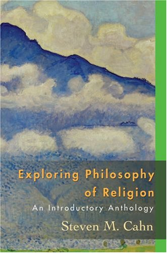 Exploring Philosophy of Religion An Introductory Anthology  2008 edition cover