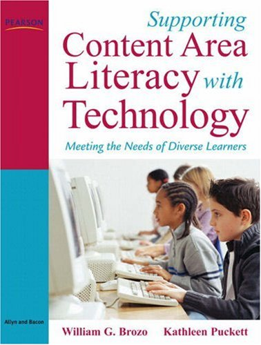 Supporting Content Area Literacy with Technology Meeting the Needs of Diverse Learners  2009 edition cover