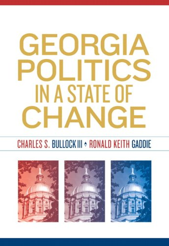 Georgia Politics in a State of Change   2010 edition cover