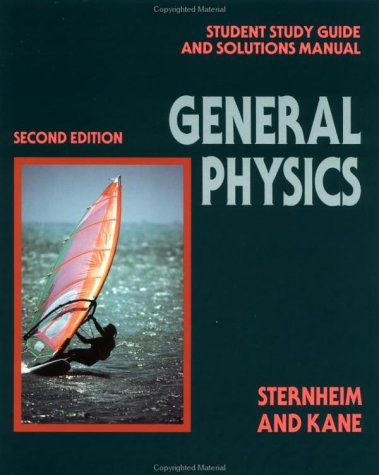 General Physics Solutions Manual 2nd 1991 9780471534853 Front Cover