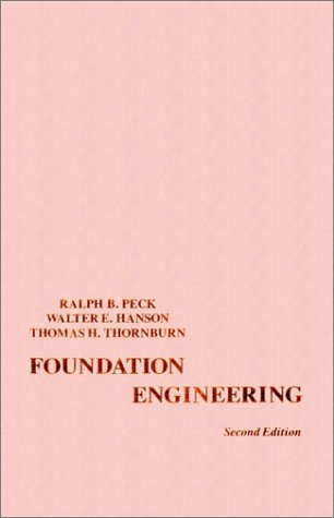 Foundation Engineering  2nd 1974 (Revised) edition cover