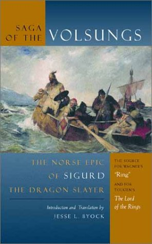 Saga of the Volsungs The Norse Epic of Sigurd the Dragon Slayer  2001 edition cover