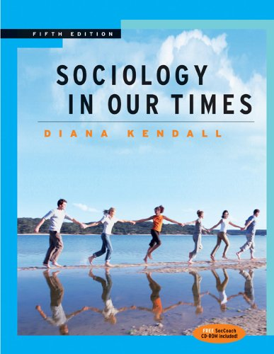 Sociology in Our Times The Essentials 5th 2005 (Revised) 9780534626853 Front Cover