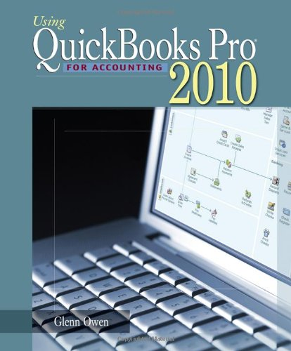 Using Quickbooks Pro for Accounting 2010  9th 2011 9780538475853 Front Cover