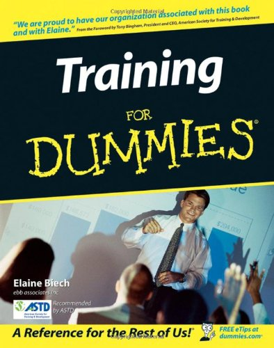Training for Dummies   2005 edition cover