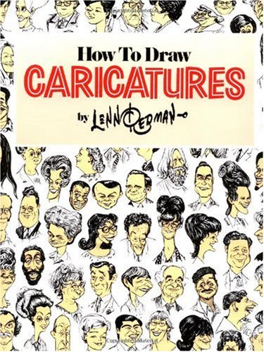 How to Draw Caricatures   1984 edition cover